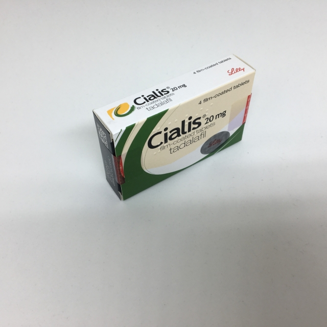 Cialis tablets 20mg- 4 pack